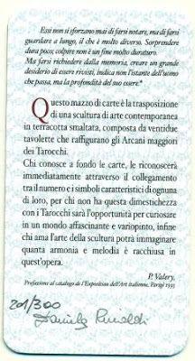 Museo Internazionale dei Tarocchi: Daniela Rinaldi