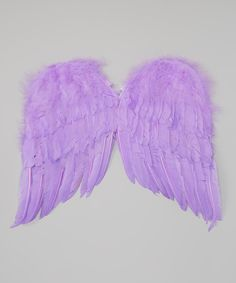 Lavender Feather Wings