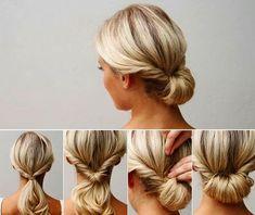 Einfache Steckfrisuren Für Schulterlanges Haar Happy Hair