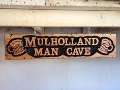Custom hand carved wood signs