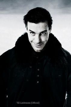 My favorite singer ever - Till Lindemann from Rammstein. Best tests and greatest music!