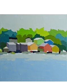 """Harbor View"" by Donna Walker"
