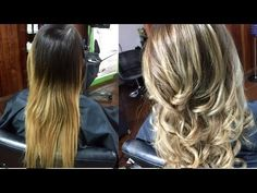 ANTES Y DESPUES BALAYAGE MANTENIMIENTO / BALAYAGE RETOUCH CON FANOLA BEFORE AND AFTER - YouTube