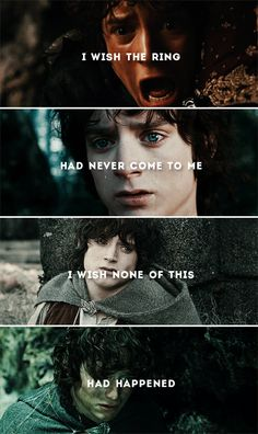 Frodo: And what are we holding onto, Sam? #lotr