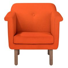 Accent Chair Orange, $1,500, now featured on Fab.