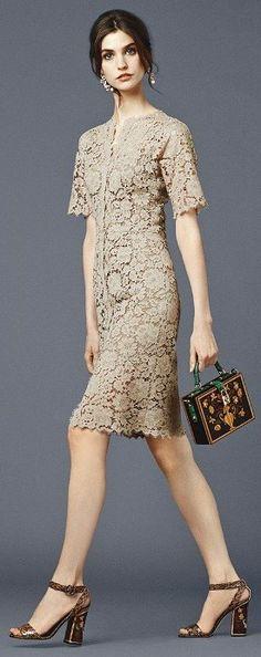 Beautiful dress. Dolce & Gabbana 2014