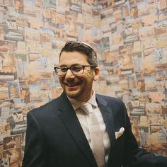 Smiling Groom. #handsomegroom #onhisweddingday #agroomsattire #groomspiration #nycweddings #ollistudio #nycweddingphotography #awardwinning #photojournalistic