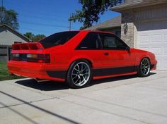 Red foxbody gt