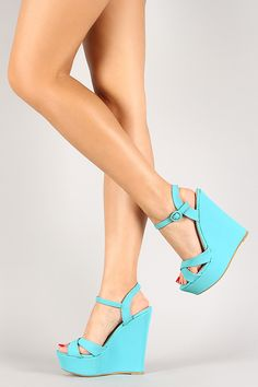 65 chunky shoes to copy today women shoes trends 2019 page 15 Ankle Strap Shoes, Wedge Shoes, Shoes Heels, High Heels, Cute Sandals, Cute Shoes, Chunky Shoes, Leopard Heels, Gorgeous Heels