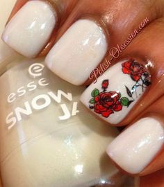 nails.quenalbertini: Busy Girl Nails Spring Nail Art Challenge - Flowers | Polish Obsession