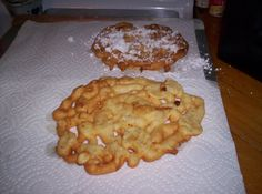 How To Make a Perfect Funnel Cake; Like The Ones At The County Fair, With Step By Step Instructions And Photos