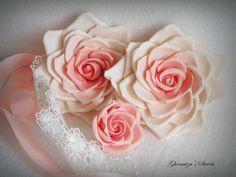 Gumpaste Roses Gum Paste, Roses, Cake, Flowers, Plants, Pink, Rose, Kuchen, Plant