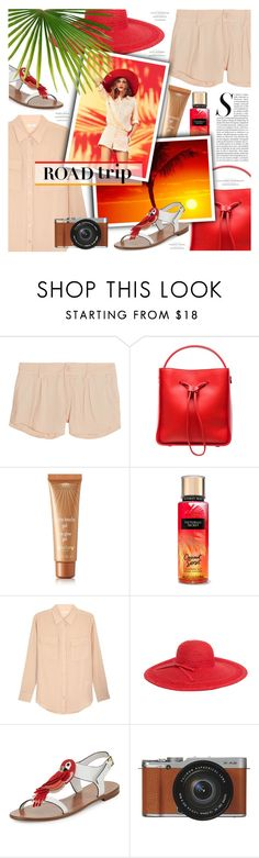 """""""VIAJE DEL SOL"""" by lilith1521 ❤ liked on Polyvore featuring Alice + Olivia, 3.1 Phillip Lim, Sisley - Paris, Equipment, Magid, Paul & Joe and Kate Spade"""