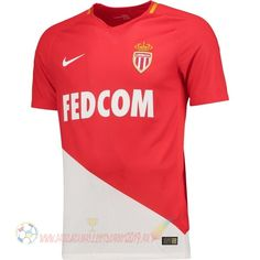 16015052c11d7 Destockage Maillot De Foot Nike Domicile Maillots AS Monaco 2017 2018 Rouge