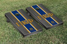 Pi Kappa Phi Stained Cornhole Game Set