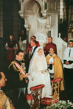 Wedding of Prince Rainier and Grace Kelly