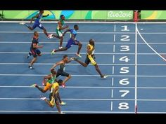 Usain Bolt Wins 2016 RIO OLYMPICS 100m Men's Final FULL Video Please Subscribe & Share - YouTube