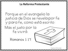 La Reforma- Martin Lutero Sola Scriptura, Martin Luther, Sola Fide, Bible Stories, Soloing, Classroom, Faith, Quotes, Live