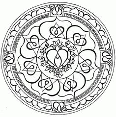 Mandala Coloring pages | FREE coloring pages | #23 Free Printable ...