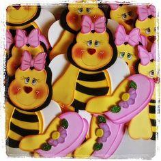 Molde abelhinha de eva