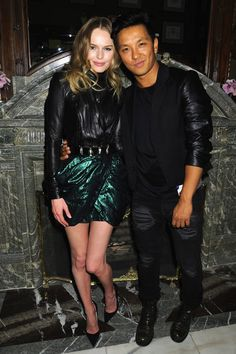 The most stylish BFF award goes to: Kate Bosworth & @prabal gurung xx