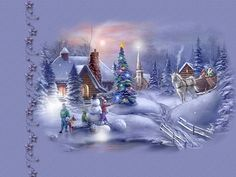 images of animated christmas wallpaper