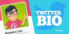 Crafting the Perfect Twitter Bio and Profile Twitter Bio, Business Entrepreneur, Social Media Marketing, Branding, Profile, Tips, Crafts, Ideas, User Profile
