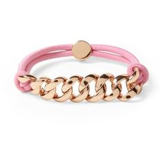 Marc by Marc Jacobs Sporty Turnlock Bracelet ($58) ❤ liked on Polyvore