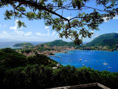 Les Saintes, vue du fort Napoléon,Guadeloupe