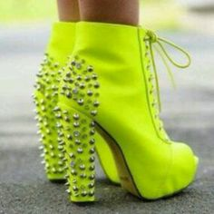 shoes #yellow #want