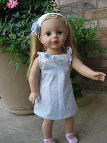 Bear, Dolly and Moi: late summer doll clothes