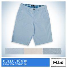 Refrescantes y prácticas, las bermudas se convierten en un básico indispensable de la temporada. #mbö #summer #estilo #modamasculina #peru #followme #fashion #instafashion #bermuda #shorts