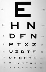 """I know this is an eyechart, but I'm going to brief it anyway"""