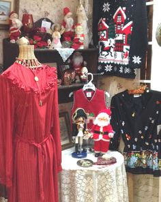 Getting Ready for Christmas at the Mission Galleria in Riverside California Antique and Gift mall across the street from the Mission Inn