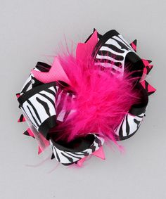 Take a look at this Funky Bow Clip by The Hair Candy Store