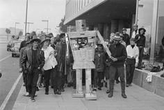 18th Sept 1966 Rambling Robot was to walk 50 miles to London to raise money for charity