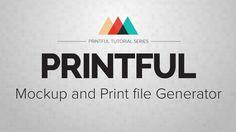 Printful - Mockup and print file Generator