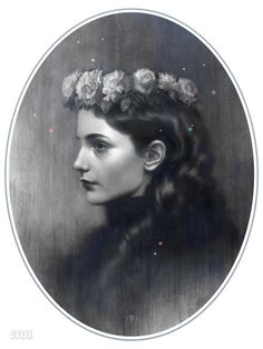 This beautiful collection of mysterious female portrait illustrations is by Tom Bagshaw who is currently based in Bath, England. Tom is working