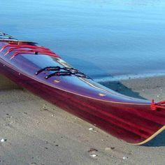 Wooden Kayak!! www.kayakplans.com/f