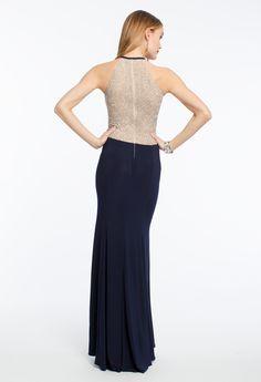 Studded Halter Dress #camillelavie