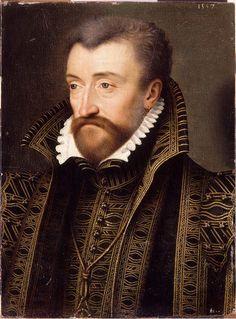 Portrait of Antoine de Bourbon (1518-1562). School of Francois Clouet. 1557