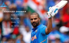 Shikhar Dhawan, Cricket Match, Cash Prize, World Cup, Balls, Competition, Running, Baseball Cards, Big