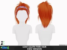 Coupure Electrique: Leahlillith`s Tori hair retextured - Kids and Toddlers version - Sims 4 Hairs - http://sims4hairs.com/coupure-electrique-leahlilliths-tori-hair-retextured-kids-and-toddlers-version/