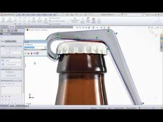 SolidWorks Training: Create a Model Using a Sketch Picture by SolidWize