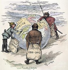 Imperialism in World War 1  Ever since Columbus landed in the Americas, a handful of European countries had grown wealthy and powerful by controlling other countries. By 1914, England, France, Italy, Belgium, and Germany were busy carving up the rest the globe in a contest known as imperialism. For the winners the stakes were high- land meant wealth in those days, and the more you had the wealthier you were.