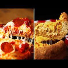 Shrimp Scampi Pizza Shrimp Scampi Pizza Recipe, Shrimp Pizza, Pizza Recipes, Snack Recipes, Snacks, Garlic Butter Sauce, Pizza Party, Just Cooking, Pizza Dough