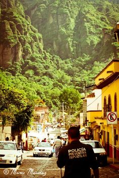 Tepoztlan Mexico. There's something about this shot, the light, the mountains...captivates.