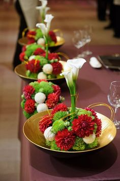 Pin by はる on happy in 2020 Tropical Flower Arrangements, Tropical Flowers, Ikebana, Chinese New Year Decorations, Japanese New Year, Japanese Wedding, Flower Decorations, Table Decorations, Japanese Flowers
