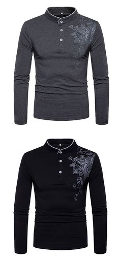 Men's Daily Going out Casual Chinoiserie Spring Fall T-shirt