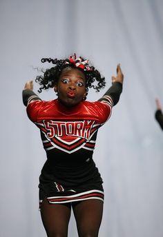 ...you give good facials. | 35 Things Every Cheerleader Will Understand  #cheer #cheerleader #cheerleading